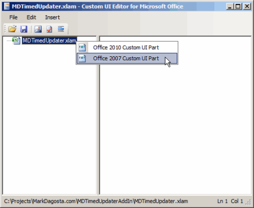 Custom UI Editor screen shot